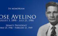 Senator Jose Avelino