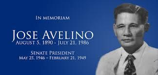 Senator Jose Dira Avelino