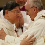 Cardinal Tagle and Pope Francis